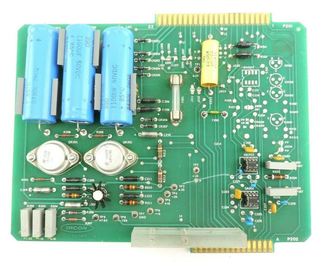 IRCON 50095-4 Amplifier Powwer Board Printed Circuit Board
