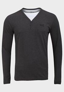 später vollständig in den Spezifikationen Modestil von 2019 Details about mens Jean Pascale long sleeve grey&white small cotton top /  jumper / T-Shirt