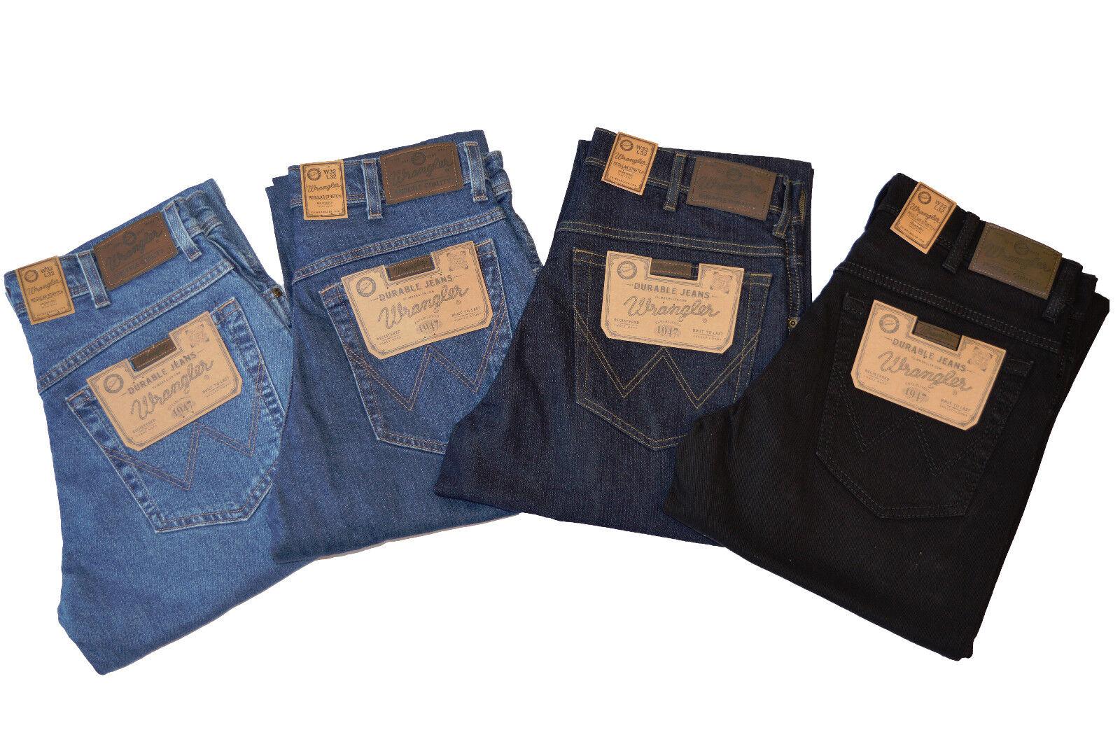 Wrangler Regular Fit Durable Stretch Men's Jeans Similar Texas all Sizes