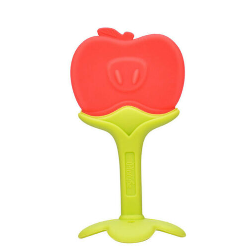 Toddlers Infants Baby Teething Toys Soft Silicone Fruit Teether Chewable Soother