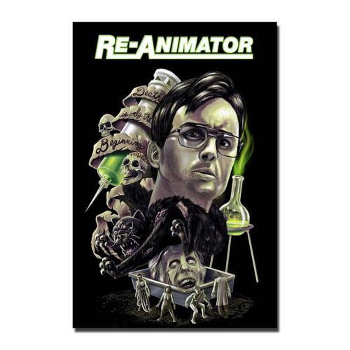RE-ANIMATOR Poster Art Silk Horror Movie Poster 13x20 24x36 inch J687
