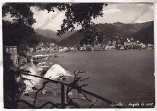 GENOVA RAPALLO 164 Cartolina FOTOGRAFICA VIAGGIATA 1952 DIFETTI !!!