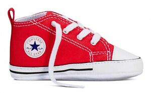 all star converse rosse bambino