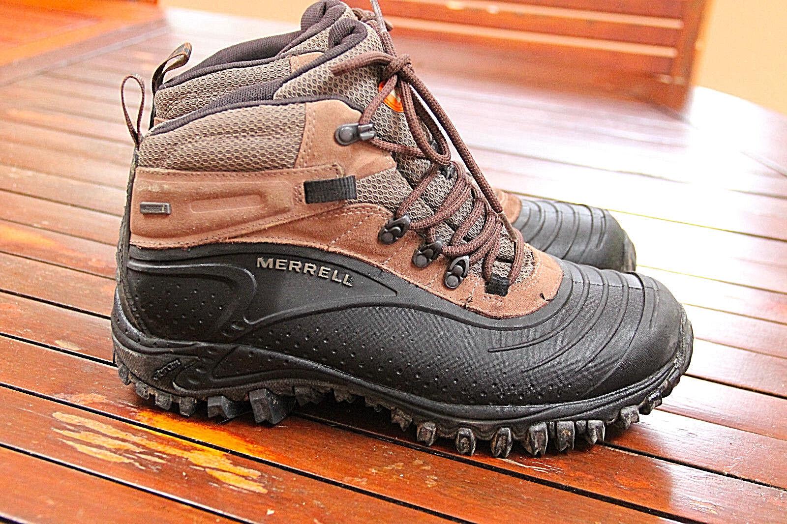 Magníficos zapatos senderismo trek resistente al agua MERELL MERELL MERELL p 42 EU UK8 valor 72b3a5