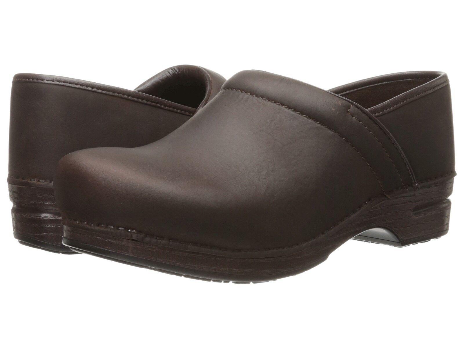 Men's Dansko Professional Pro XP Clogs Brown Oiled Leather