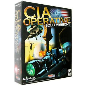 CIA Operative: Solo Missions [Large Box] [PC Game]