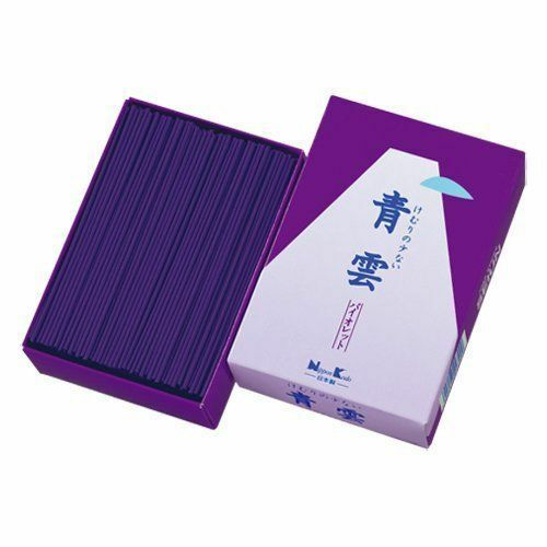 Japanese SEIUN SENKOU Incense Sticks Violet 270g Made in JAPAN