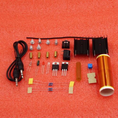 15W DIY Mini Tesla Coil Plasma Speaker Set Electronic Field Music Project Parts