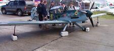 Peak Aerospace Me 109 Ultralight Aircraft Wood Model Small New
