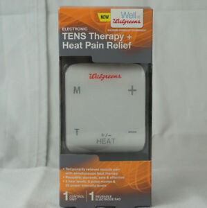Walgreens Electronic Tens Therapy And Heat Pain Relief Unit 68 033