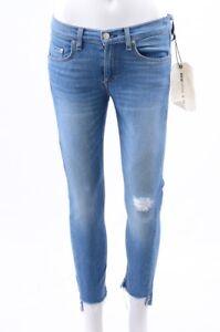 Rag-amp-Bone-Capri-Sunset-blue-27-S-distress-denim-skinny-crop-jean-pant-NEW-240