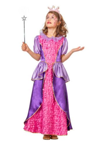 bacchetta di Fata principessa abito rosa-lilla incl Bambini Festa di Compleanno Costume Set