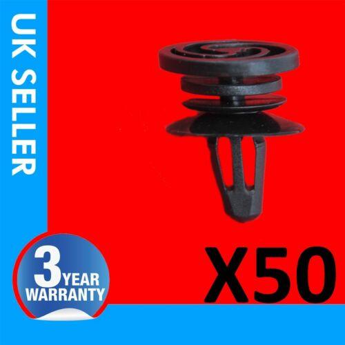 50X Porte Carte Garniture Panneau Moulure Clips pour VW Touareg Seat Ibiza 6K0868243C