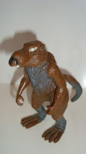 11x5cm FIGURINE DES TORTUES NINJAS TMNT MAITRE SPLINTER PLAYMATES TOY 1988
