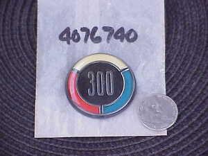 1979-79-Chrysler-300-MoPar-Tail-Lamp-MEDALLION-4076740