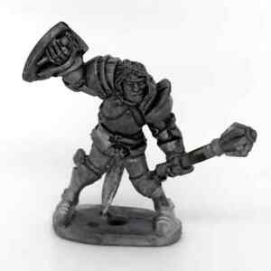 Medieval-Knight-with-mace-Warhammer-Fantasy-Armies-28mm-Unpainted-Wargames