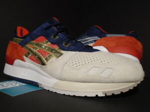 Details about ASICS GEL LYTE III 3 CONCEPTS CNCPTS BOSTON TEA PARTY SILVER GOLD H50TK 9394 11