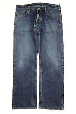 Men's Iron Heart Jeans 21 oz Extra Heavy Denim Selvedge Size 38x31 Zipper Fly