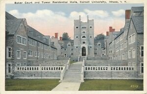 ITHACA-NY-Cornell-University-Baker-Court-and-Tower-Residential-Halls