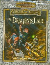 AD&D 2 FORGOTTEN REALMS INTO THE DRAGON'S LAIR