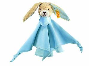 Geschenkverpackung Um Der Bequemlichkeit Des Volkes Zu Entsprechen Tiere Steiff 237478 Hoppel Hase Schmusetuch Blau 28 Cm Incl