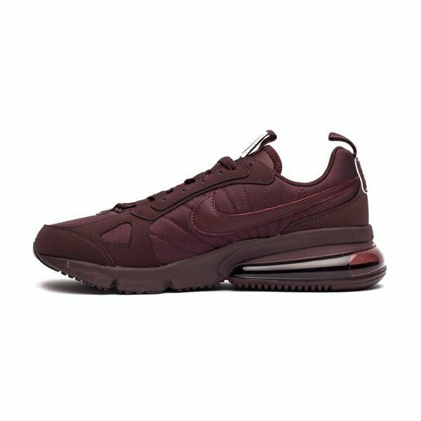 Size 7   13 Nike men Air Max 270 Futura shoes AO1569 600 Burgundy