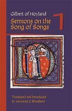 Gilbert of Hoyland : Sermons on the Song of Songs, Volume 1 (1978, Paperback)