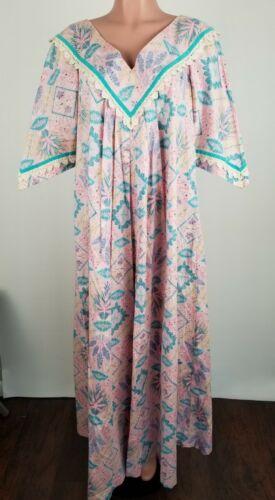 Rare Reyn Spooner Aloha Hawaiian Dress Muumuu XL R