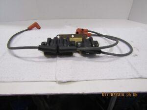 1999 EVINRUDE FICHT 150 HP COILS,PLUG WIRES,BRACKET PART ...