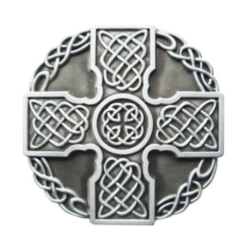 Celtic Cross VIII Boucle de ceinture celte Celtes épée et bouclier Celts Croix