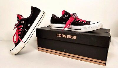 CONVERSE All Star Womens Double Tongue