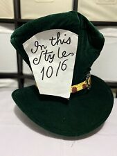 Fancy Dress Costume One Size TV-Film-Mens-Stage-Accessory MAD HATTER HAT SET
