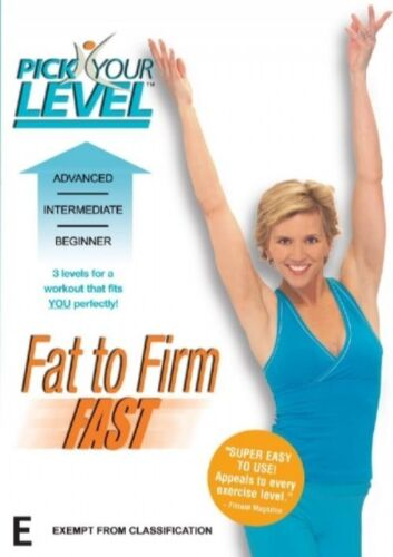 1 of 1 - Pick Your Level - Fat To Firm Fast (DVD, 2007)-REGION 4-Brand new-Free postage