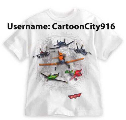 Disney Pixar Planes Dusty Skipper El Chupacabra Ripslinger Echo T-Shirt Size 5//6