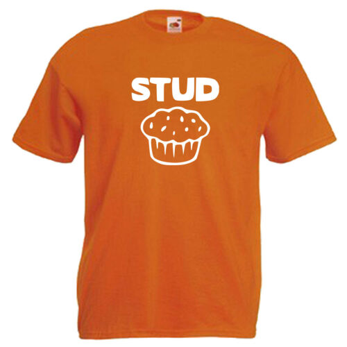 Stud MUFFIN divertente slogan Children/'s Kids T Shirt