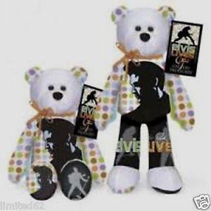 Amazon.com: TY Beanie Baby - TEDDY BEAR the Elvis Bear ... |Elvis Presley Stuff Animal