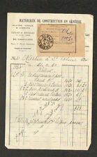 """ANDELOT (52) MATERIAUX DE CONSTRUCTION """"L. ROUTIER"""" en 1930"""