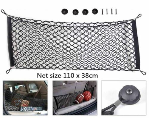 UK Universal Car Trunk Storage Cargo Luggage Nylon Elastic Mesh Net 110x38cm