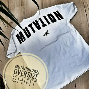 T-shirt Heavy Oversize Tee MUTATION VX FITNESS bodybuilder Corona Anti Impfung