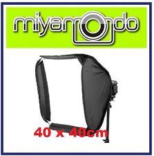 40x40cm Portable Soft Box Softbox Kit For Flash Photography