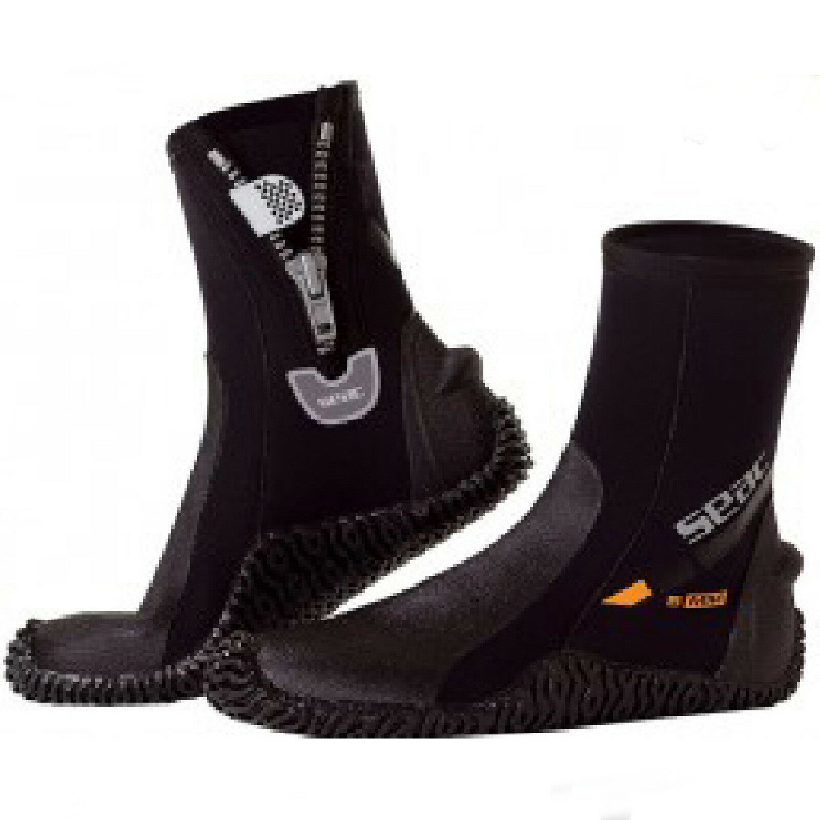 LO3 seac sub  DIVING SURF boots 5mm zip BASIC HD SIZE XS
