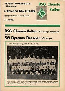 FDGB-Pokal-86-87-BSG-Chemie-Velten-SG-Dynamo-Dresden-08-11-1986
