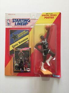 1992 Kenner Starting Lineup NBA David Robinson San Antonio Spurs New In Package