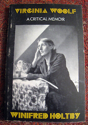Virginia Woolf A Critical Memoir By Winifred Holtby Cassandra Edition 1978 Ebay