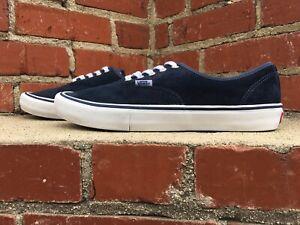 Détails sur Vans Authentic Pro Bleu Lacets Casual Skate En Daim Baskets Chaussures Hommes Taille 11.5 afficher le titre d'origine