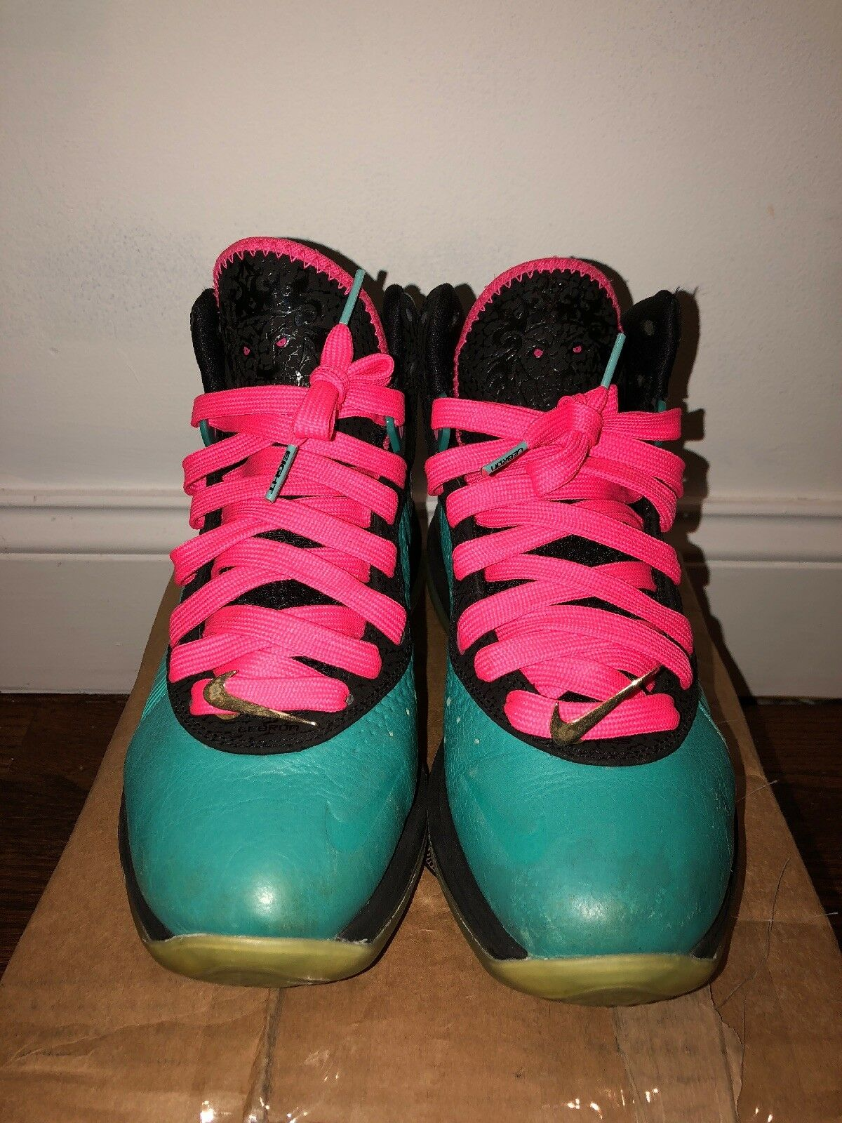 best loved 752e0 e14d3 ... Gentlemen Ladies Nike special Lebron 8 Pre Heat South Beach Year-end  special Nike promotions ...