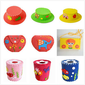 Creative-Handmade-EVA-Kids-DIY-Craft-Kits-Children-Boys-Girls-Educational-Toy