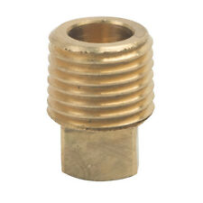 """1 PC. 06115-02 Brass Fitting HEX PLUG 1//8/"""" Male Pipe x 3//16/"""" HEX Solid Back"""