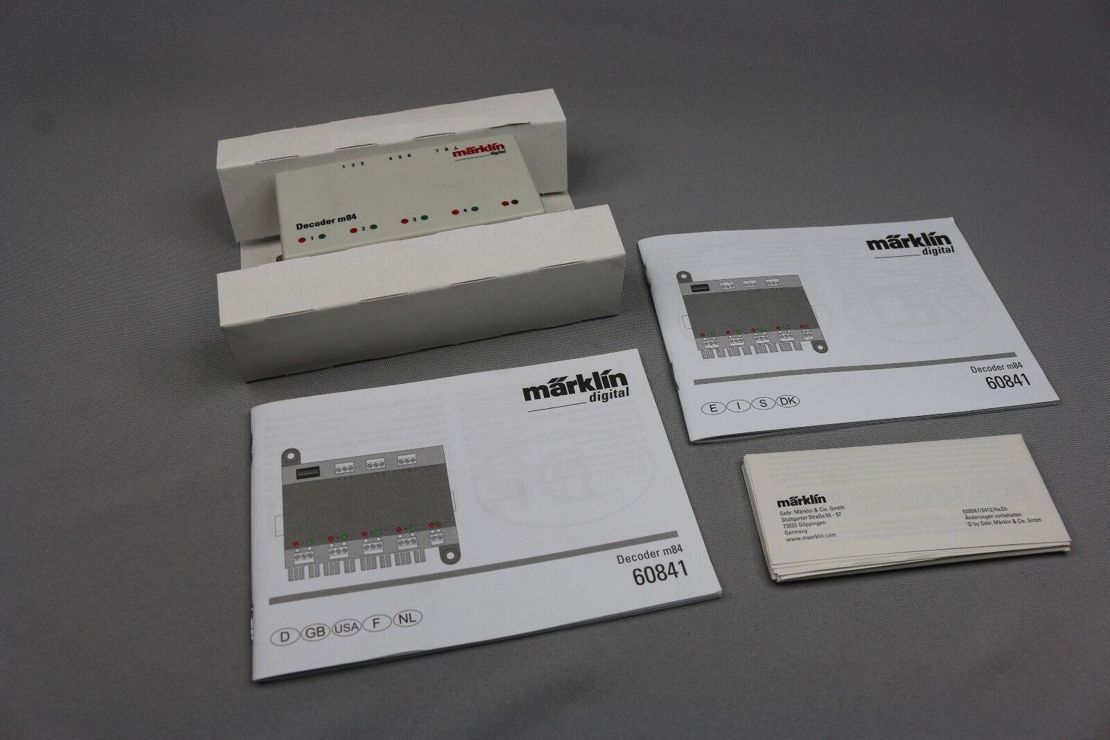 Tienda de moda y compras online. ZC2162 Marklin Digital train 60841 60841 60841 decodeur m 84 decoder commutation recepteur  n ° 1 en línea