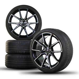 19-in-JANTES-Jantes-alu-pour-Audi-a4-a5-b8-Pneus-d-039-Ete-Ete-Roues-7-mm